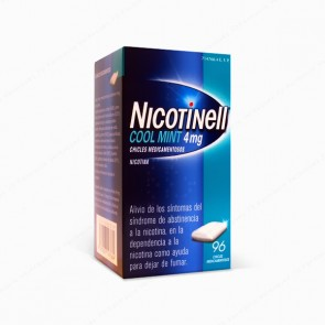 Nicotinell Cool Mint 4 mg - 96 chicles medicamentosos