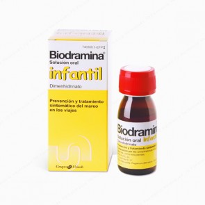 Biodramina® Infantil 4 mg/ml solución oral - 60 ml