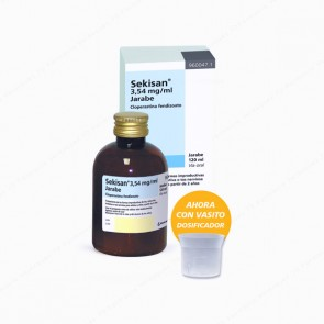 Sekisan® 3,54 mg/ml jarabe - 200 ml