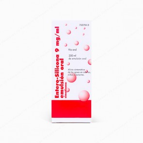 Entero-Silicona 9 mg/ml emulsión oral - 250 ml
