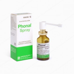 Phonal® Spray pulverizaciones faringeo-laringeas - 20 ml