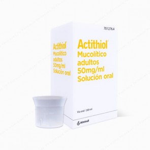 MucoActiol® adultos 50 mg/ml solución oral - 200 ml