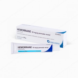 Hemorrane 10 mg/g pomada rectal - 30 gr