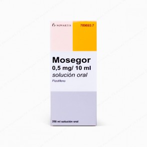 Mosegor 0,5 mg / 10 ml solución oral  - 200 ml