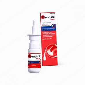 Frenasal® Plus 1 mg/ml + 50 mg/ml solución para pulverización nasal - 10 ml